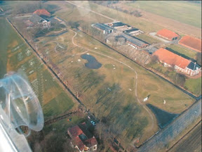 05 Oostwold, luchtfoto Huningasheem