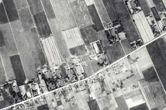 00a Oostwold, Hunningaweg, luchtfoto (1932)