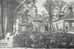 35 Oostwold, N.H. kerk met kosterswoning (1)