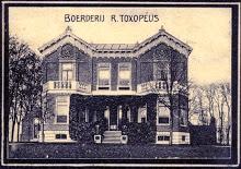 oostwold, Huningaweg, boerderij Toxopeus (1909)