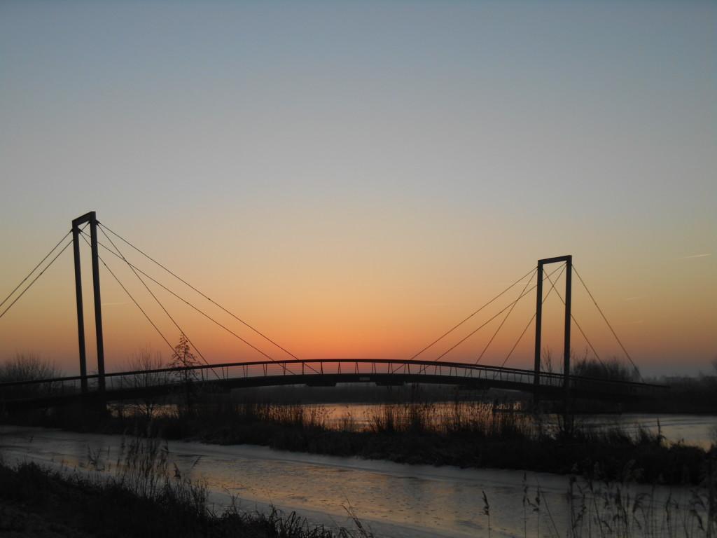 Brug Nieuweweg Oostwold 15-02-2017