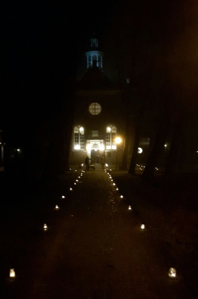 Kerk verlichting 22-12-2017