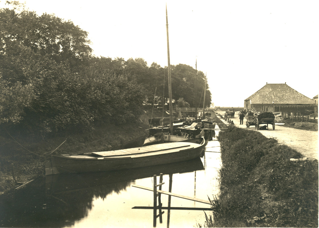 Haven Oostwold rond 1900