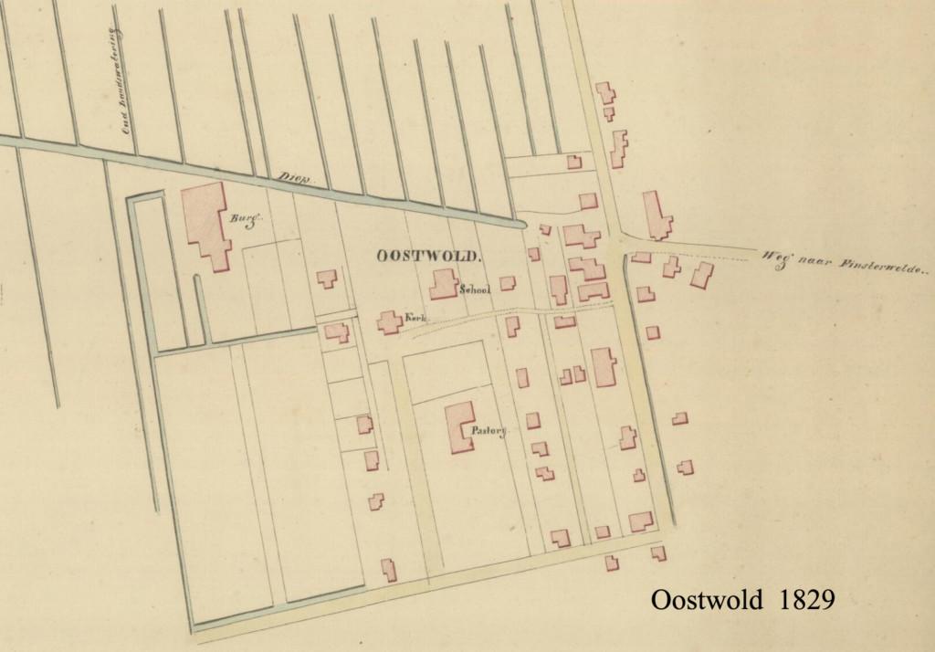 OOSTWOLD 1829 kaart org